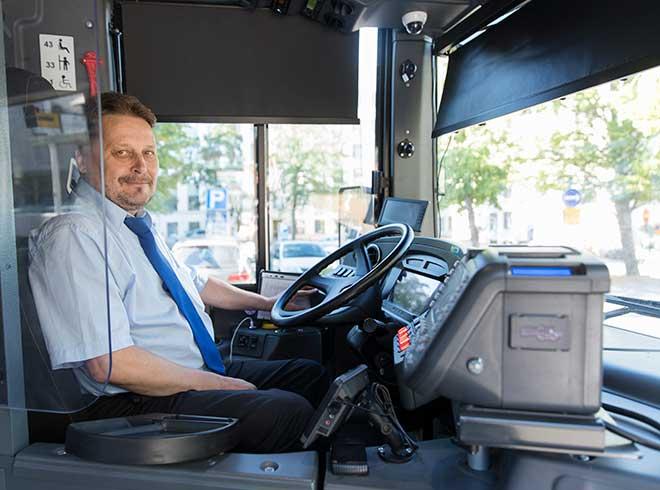 bussinkuljettaja Mikko pallari