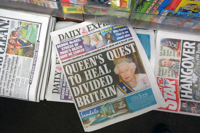 Kuningatar Elisabet piti 24. tammikuuta puheen, jossa hän peräänkuulutti yhteisen sävelen löytämistä. Puhe tulkittiin yleisesti viittauksena brexitiin.