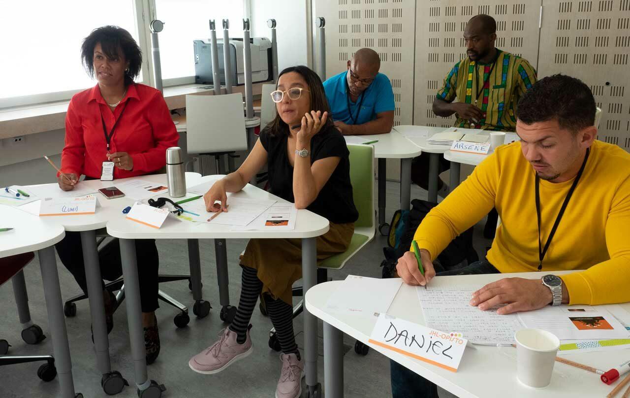 Englanninkielisellä Union is Strength -kurssilla opeteltiin ammattiliittoasioita.