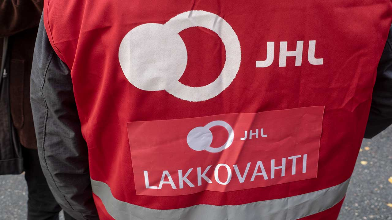 JHL:s strejkvakt.
