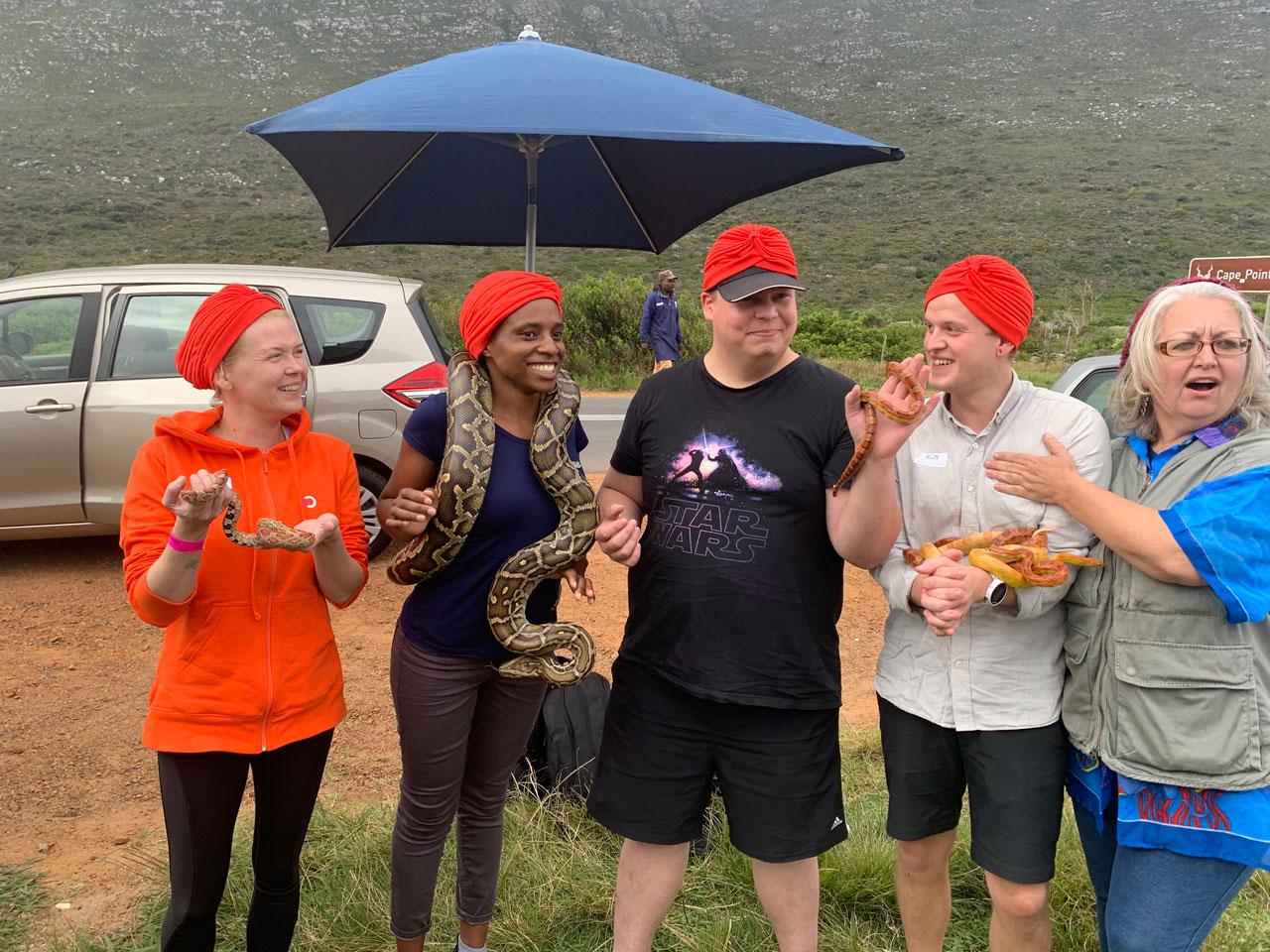 YGAP-ohjelman matka Kapkaupunkiin
