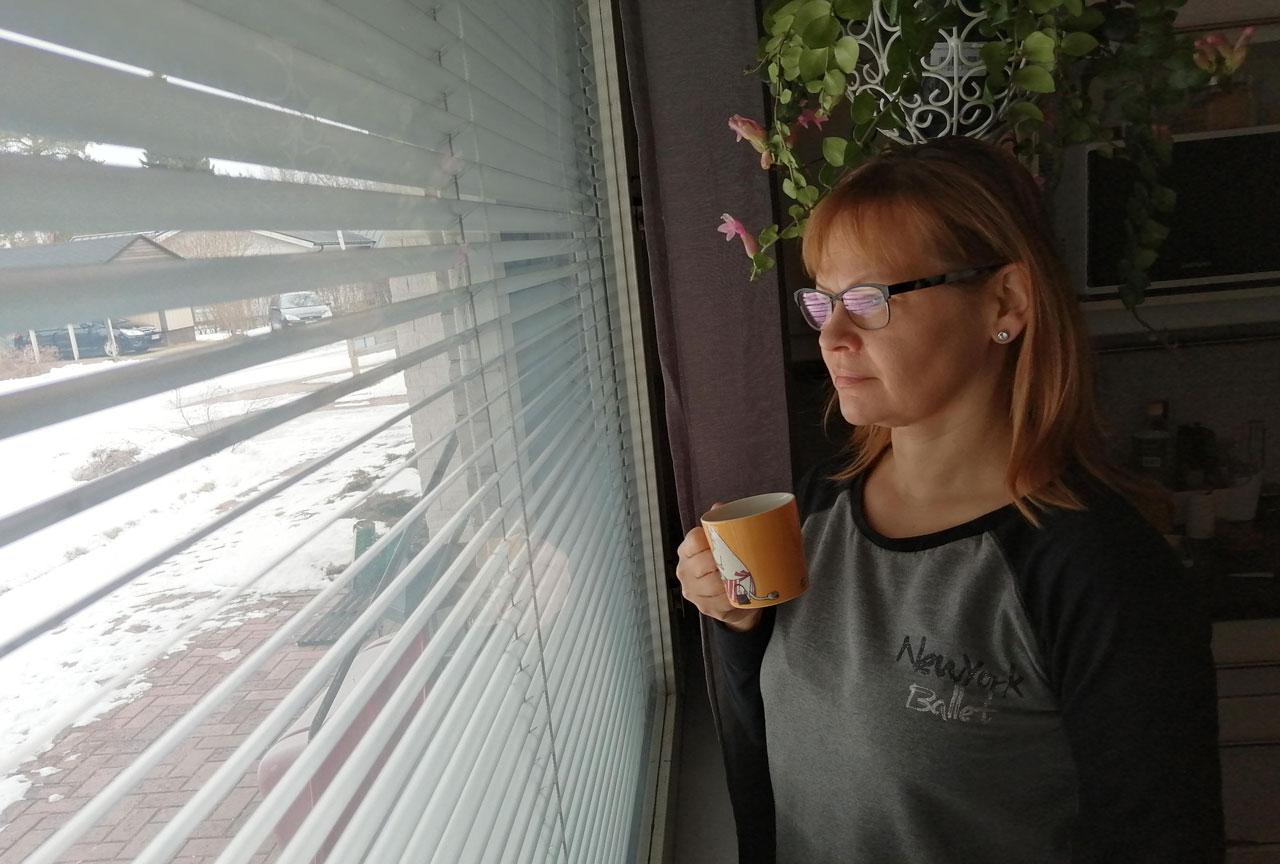 Virpi Jääskön kahvihetki