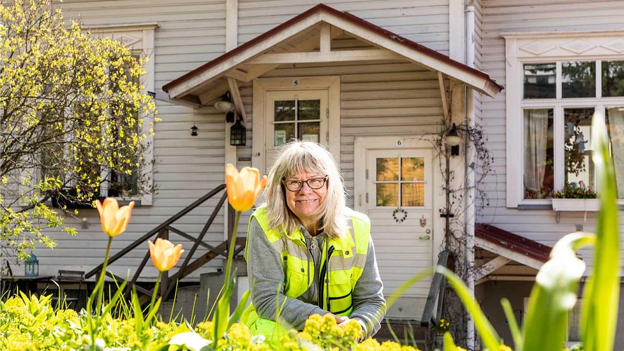 puutarhuri Tarja Hernetkoski