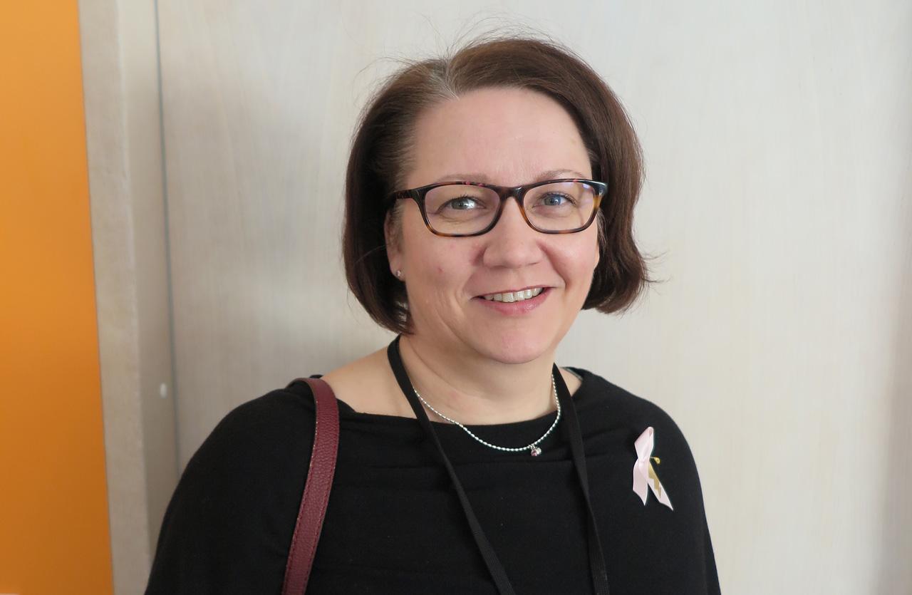 pääluottamusmies Kirsi Särkelä
