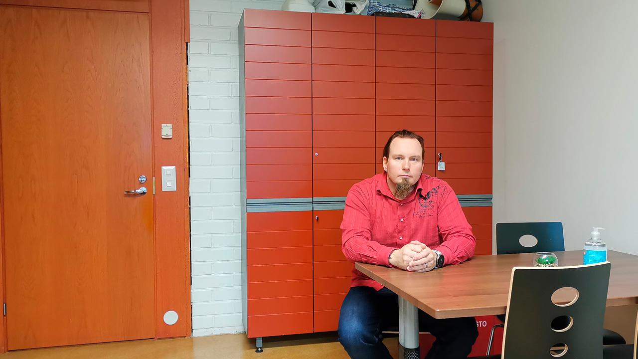 pääluottamusmies Markus Lepinoja