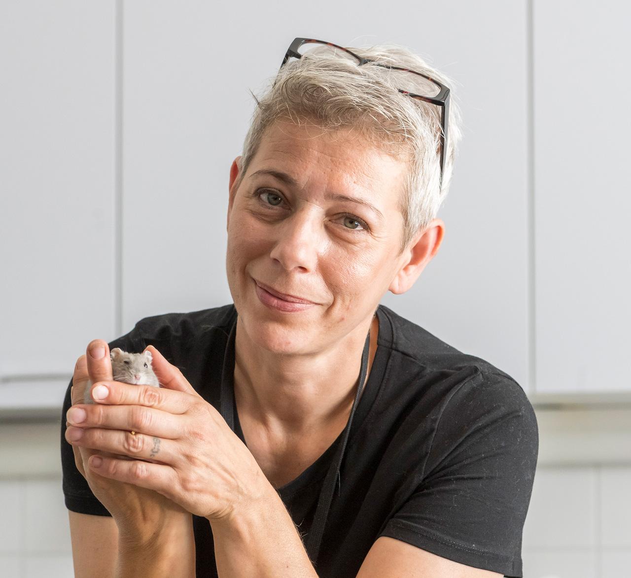 Susanna KOskinen ja kamsteri