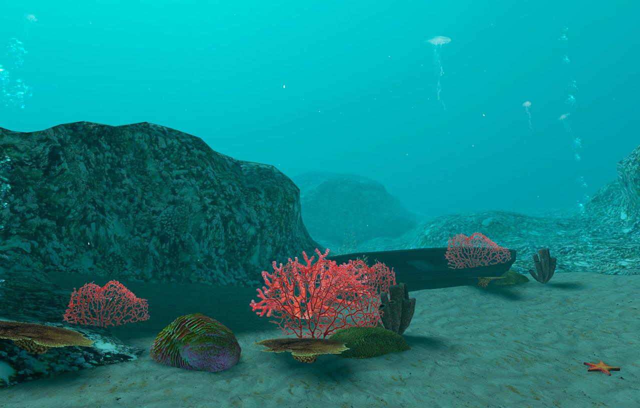 vedenalainen virtuaalimaailma
