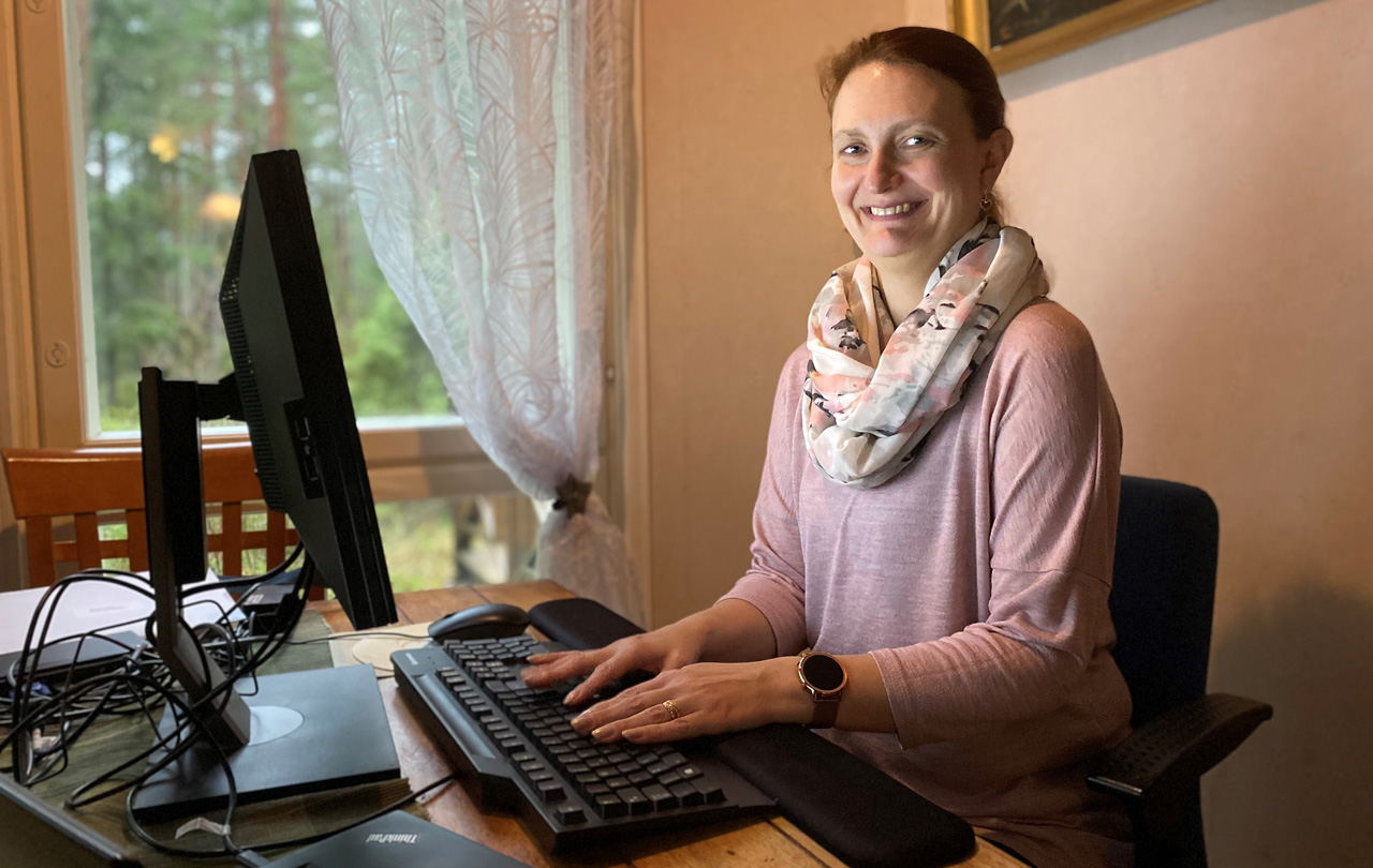 pääluottamusmies Katri Klingberg