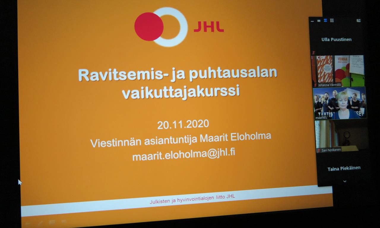 RaPu-vaikuttajakurssin ohjelma
