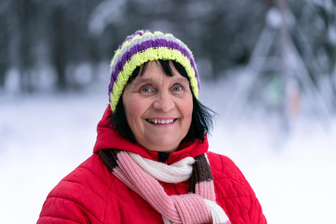 perhepäivähoitaja Arja Kurkela