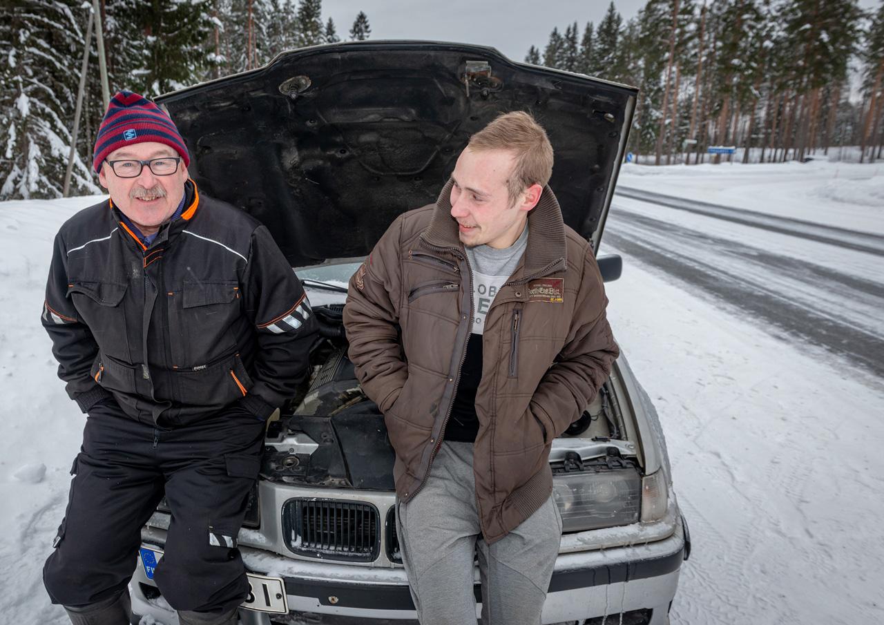 Ilpo Mannisennäki ja Jesse Keränen
