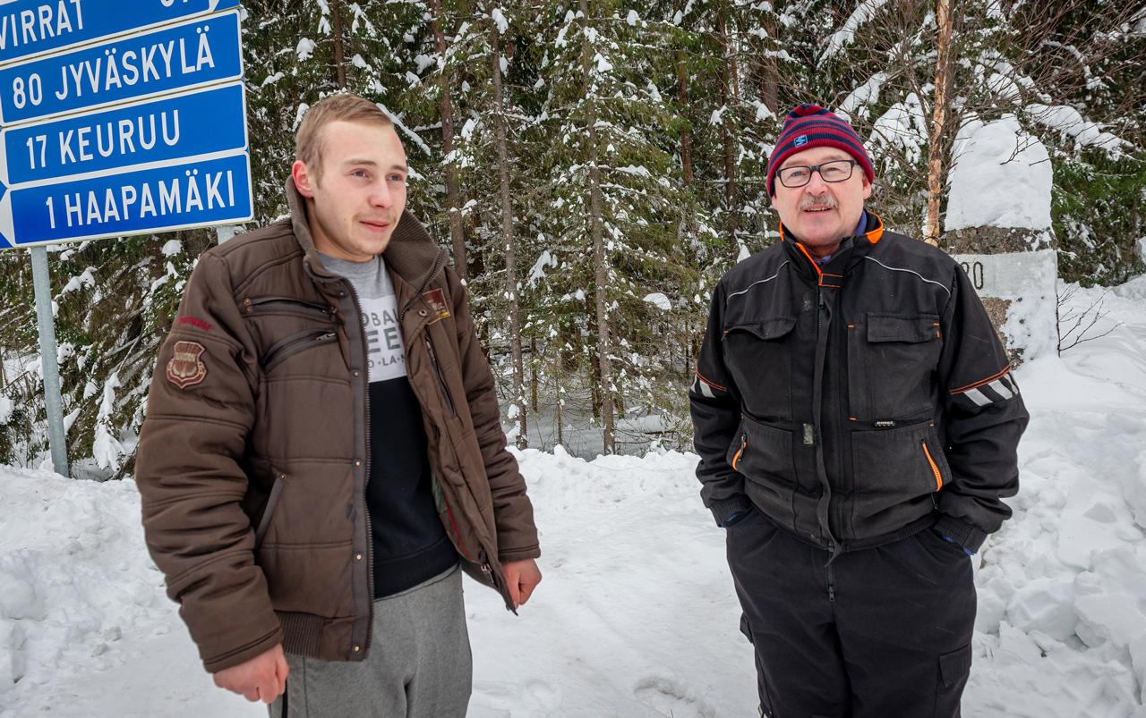 Jesse Keränen ja Ilpo Mannisenmäki
