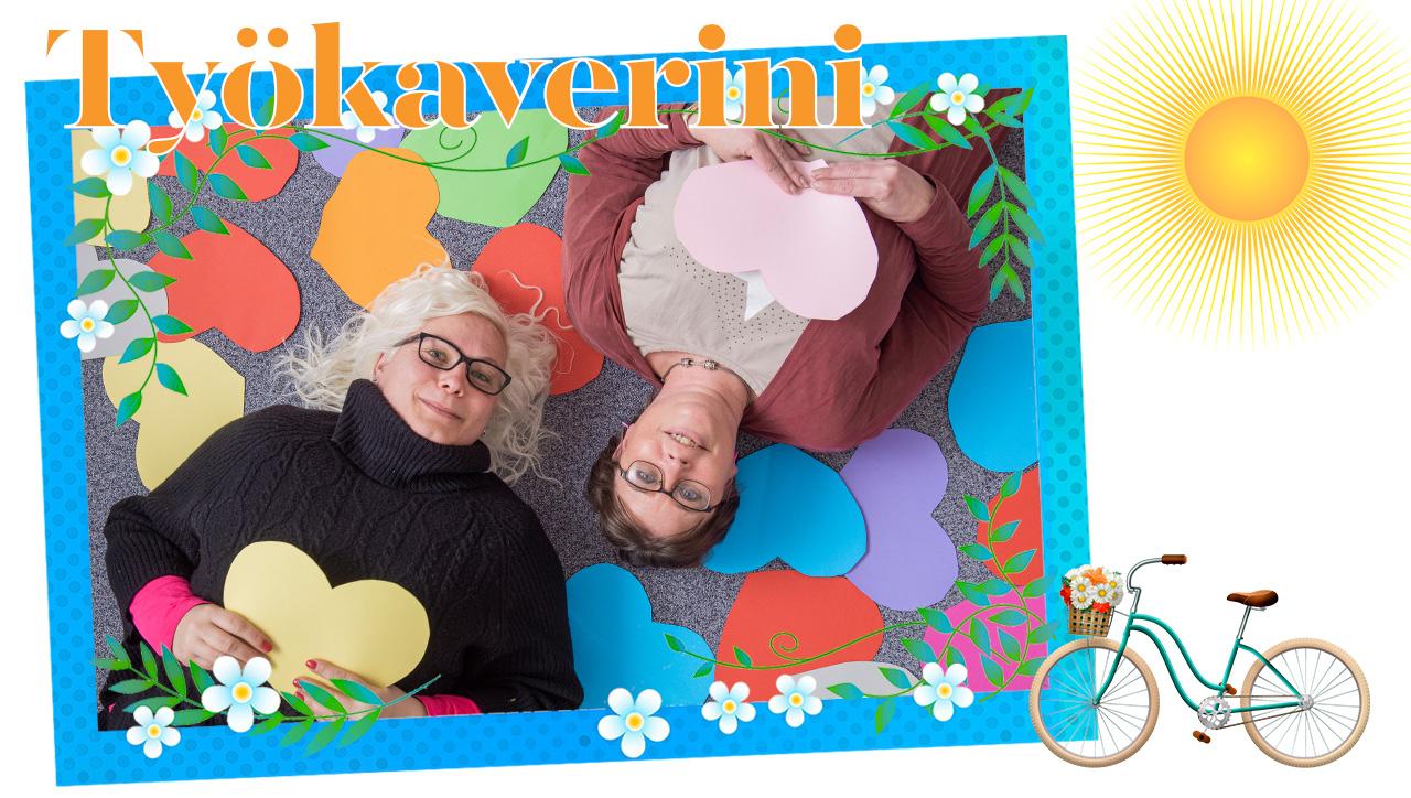 Marika Laaksonen ja Hanna Gottberg