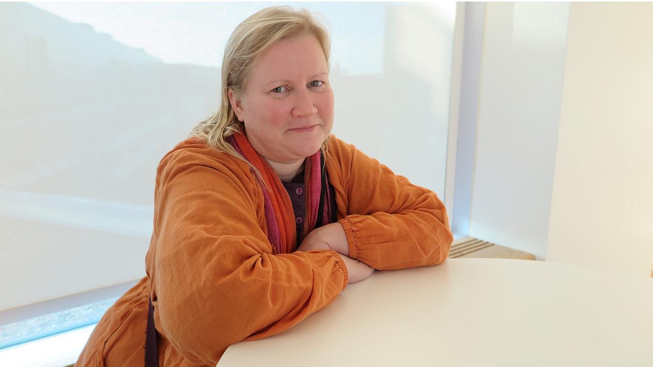 koulunkynninohjaaja Maarit Vartiainen