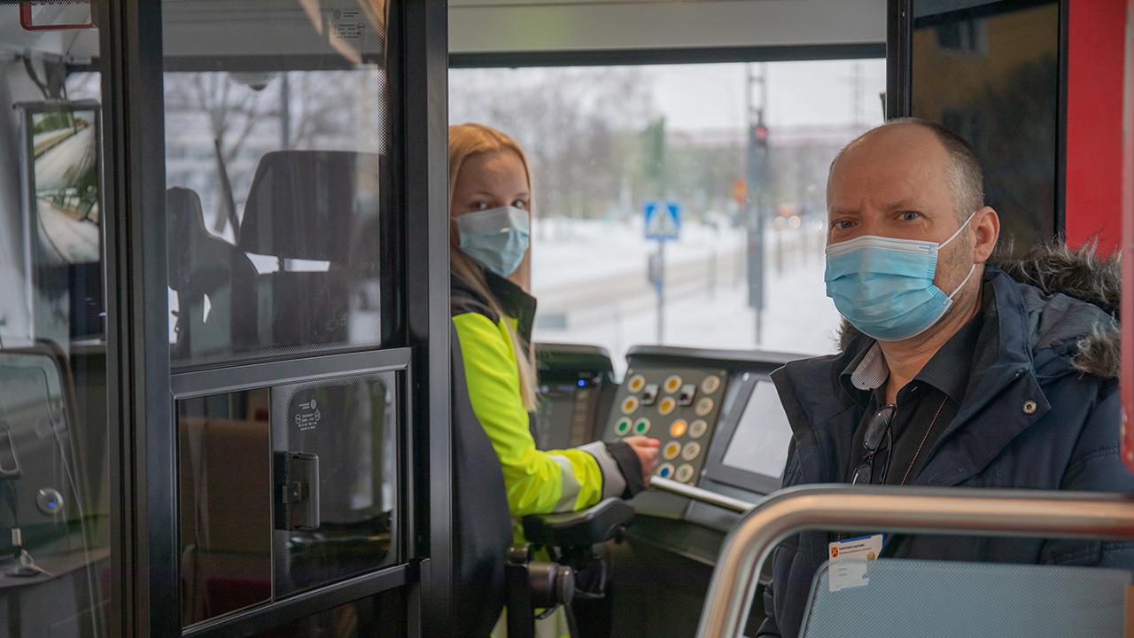 Mona Mäkinen ja Kimmo Eiranto
