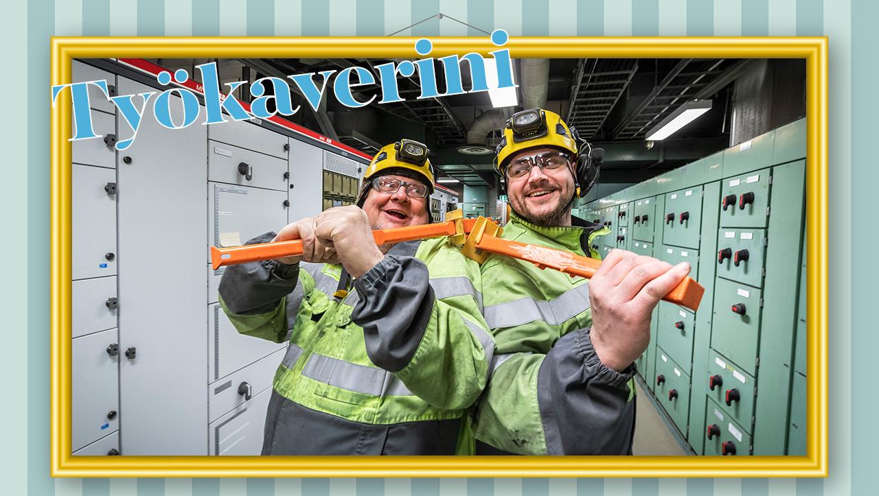Mikko Ravantti ja Matti Romu